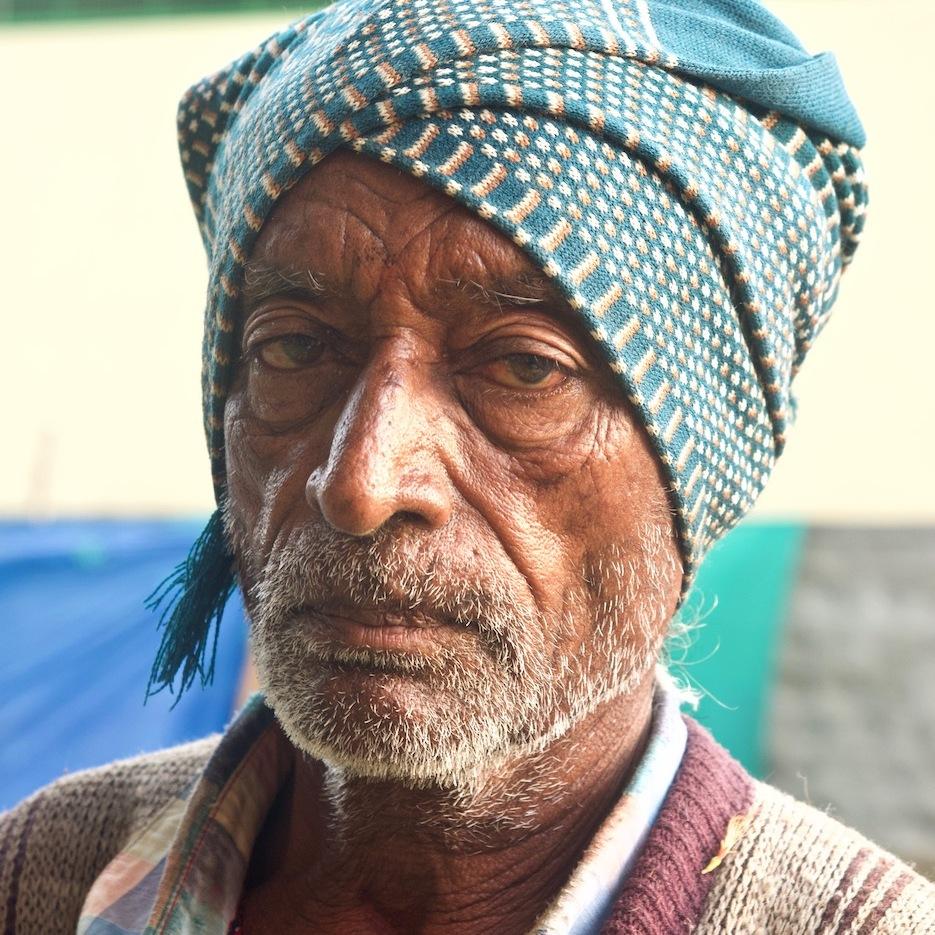 Man with turban.